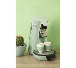 Cafetière à dosette PHILIPS HD7829/11 Viva vert d'eau