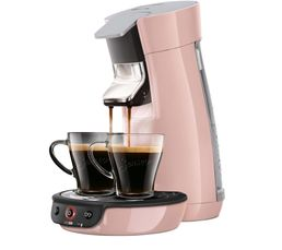 Cafeti�res & Expressos - Machine à dosettes PHILIPS HD7829/31 Viva rose poudré