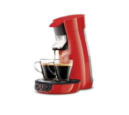 Cafeti�res & Expressos - Machine à dosettes PHILIPS HD7829/81 Viva rouge