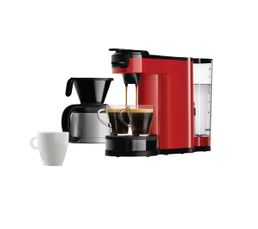 PHILIPS Cafetière à dosette Senseo HD7892/81 Switch rouge