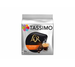 TASSIMO Dosette Tassimo Delizioso 5