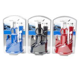 Accessoires bureau 12 pi�ces  Noir/Rouge/Bleu