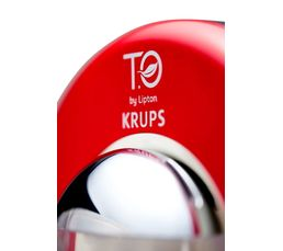 Machine à Thé T.O by Lipton KRUPS TE500500 Rouge Flamme