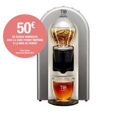 KRUPS Machine à thé TE500E00 Argent Glacé