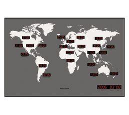 Horloge WORLD LED