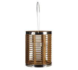 Objets � Poser - Lanterne bois 20X24 cm Naturel