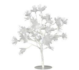 Objet lumineux ARBRE LED FLEURS BLANCHES Blanc