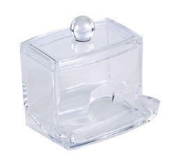 Boîte à coton tige  Transparent