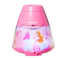 Veilleuse projecteur LED PRINCESSE Rose
