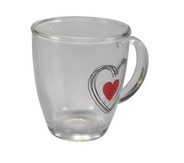 Mug SWEET HEART Transparent