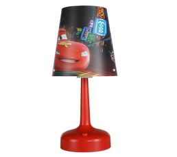 lampe de chevet cars rouge luminaires enfants but. Black Bedroom Furniture Sets. Home Design Ideas