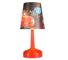 Lampe de chevet CARS Rouge