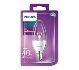 Ampoules - Ampoule LED 5,5W équiv 40W 470lm E14 Blanc chaud