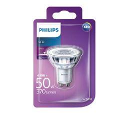 Ampoule LED 4,6W équiv 50W 370lm GU10 Blanc chaud