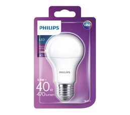 Ampoules - Ampoule LED 6W équiv 40W 470lm E27 Blanc chaud