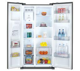Réfrigérateur américain DAEWOO FRN-Q22FCX Inox