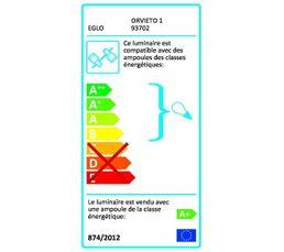 Reglette 2L ORVIETO Nickel