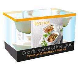 Coffret livre cuisine hachette duo de terrines et foie - Coffret livre de cuisine ...