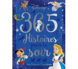 Livre disney hachette 365 histoires pour le soir livres for Livre de cuisine hachette