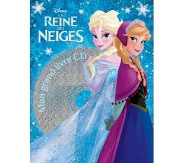 livre+CD DISNEY La reine des Neiges