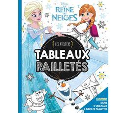 Hachette Coffret livres Les ateliers paillettes