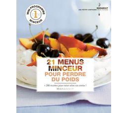 Livre de cuisine marabout menus minceur livres de - Marabout livre cuisine ...