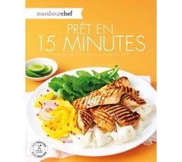 Livres De Cuisine - Livre de cuisine MARABOUT Prêt en 15 minutes