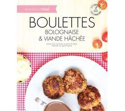 Livres De Cuisine - Livre de cuisine MARABOUT Boulettes, bolognaises...