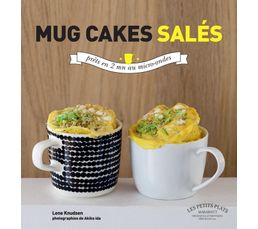 Livre de cuisine MARABOUT Mug cakes sal�s