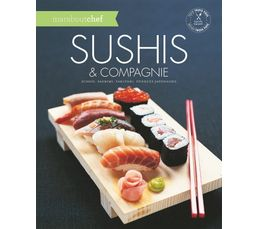 Livres De Cuisine - Livre de cuisine MARABOUT Sushis et compagnie