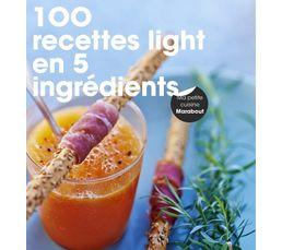 Livres De Cuisine - Livre de cuisine MARABOUT 100 recettes light