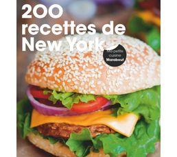 Livres De Cuisine - Livre de cuisine MARABOUT 200 recettes de New York