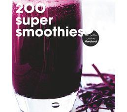 Livres De Cuisine - Livre de cuisine MARABOUT 200 recettes smoothies