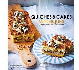 Livres De Cuisine - Livre de cuisine MARABOUT Quiches et cakes magiques