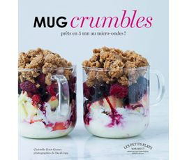 Livres De Cuisine - Livre de cuisine MARABOUT Mug crumbles en 5 minutes