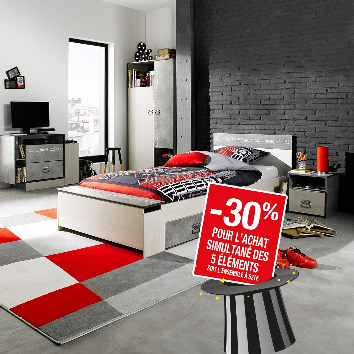 - Chambre Hipster : les 5 éléments à -30%