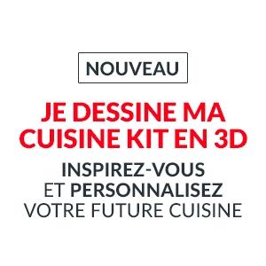 Je dessine ma Cuisine KIT en 3D