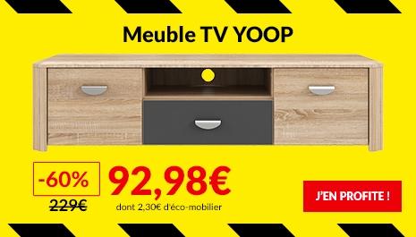 Deuxieme Demarque Meuble TV Yoop