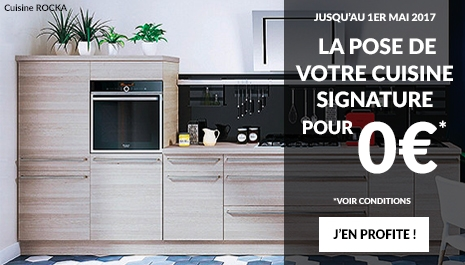 Offre cuisines Pose 0?