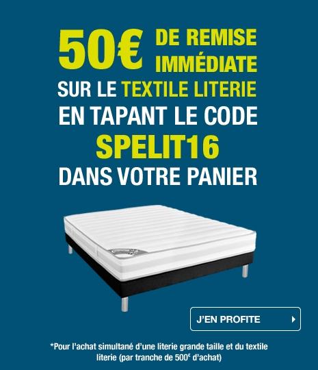 Offre Textile Literie