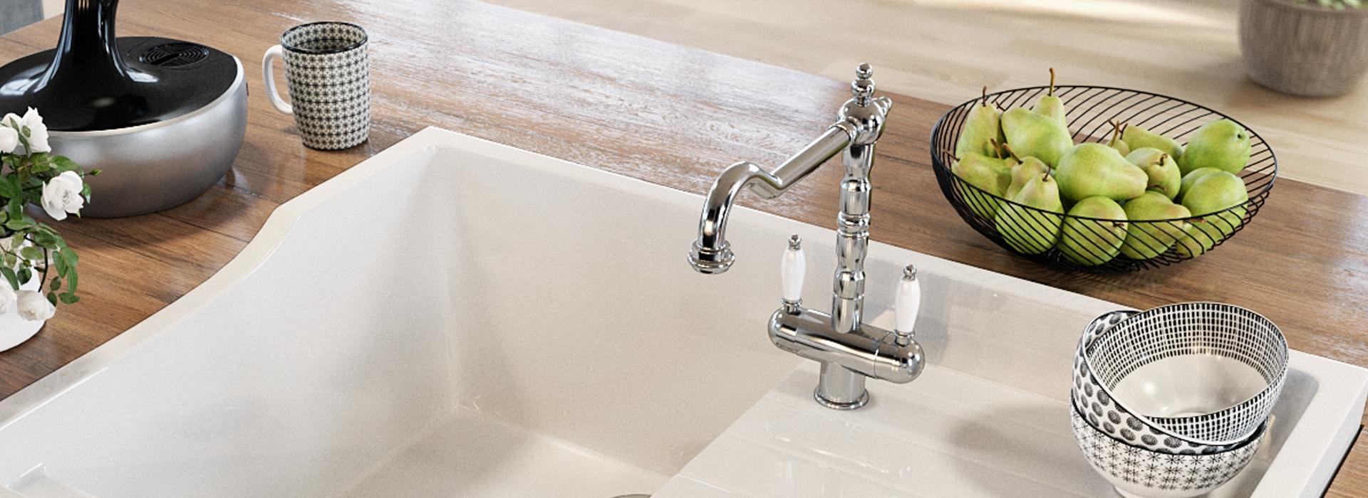 Les robinets de cuisine donnent du style