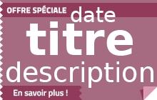 Offre Set Petit Dejeuner SIGNATURE