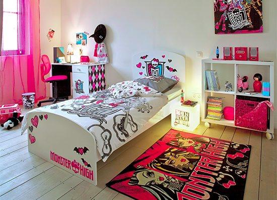 Lit 90x190 cm monster high lits but - Comment faire un lit pour monster high ...