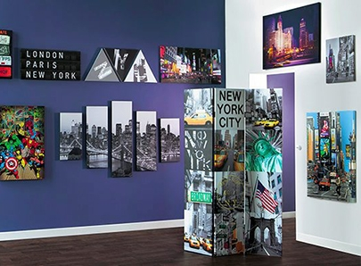 Achat objet d co pas cher for Decoration murale new york pas cher