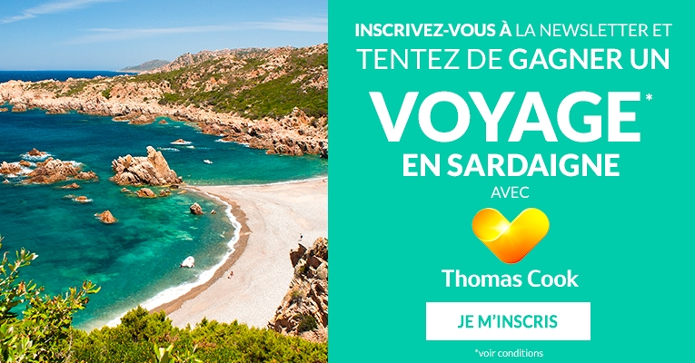 Inscription Newsletter Voyage