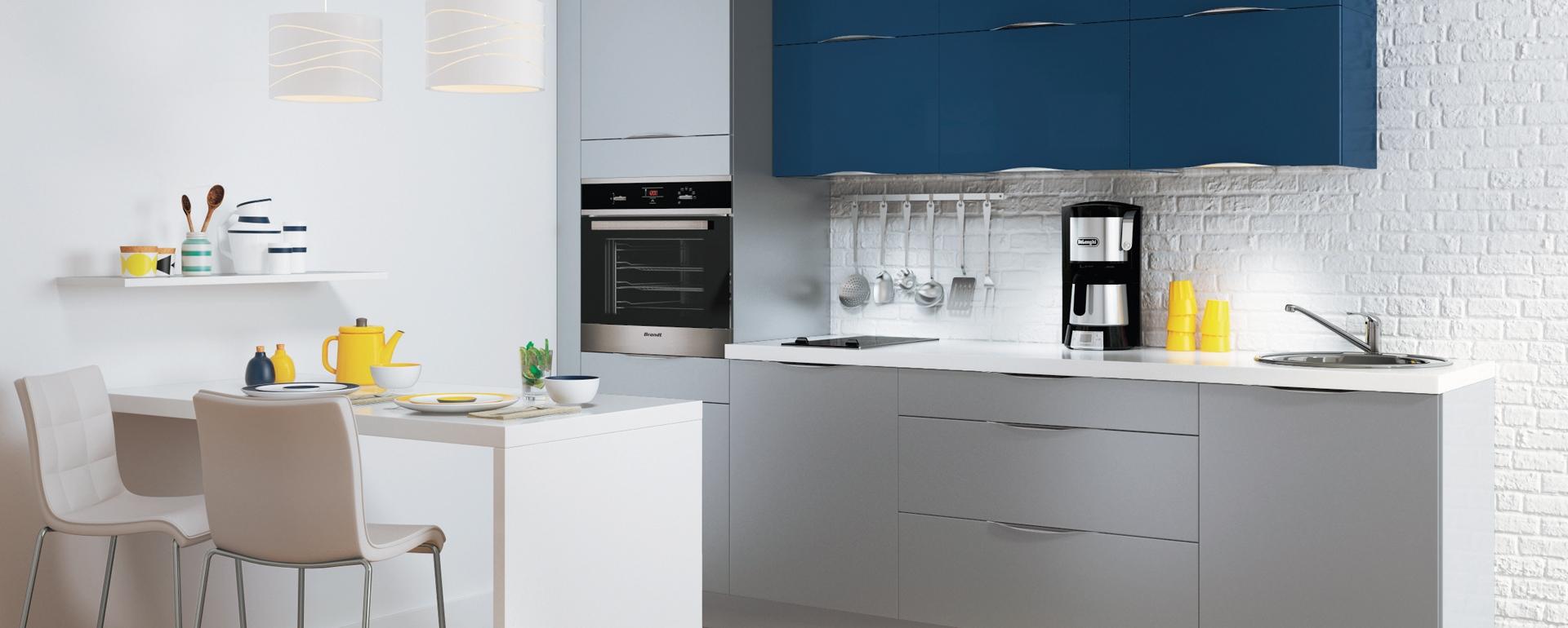 Dessiner une maison trouvez les meilleures for Cuisine equipee bleu