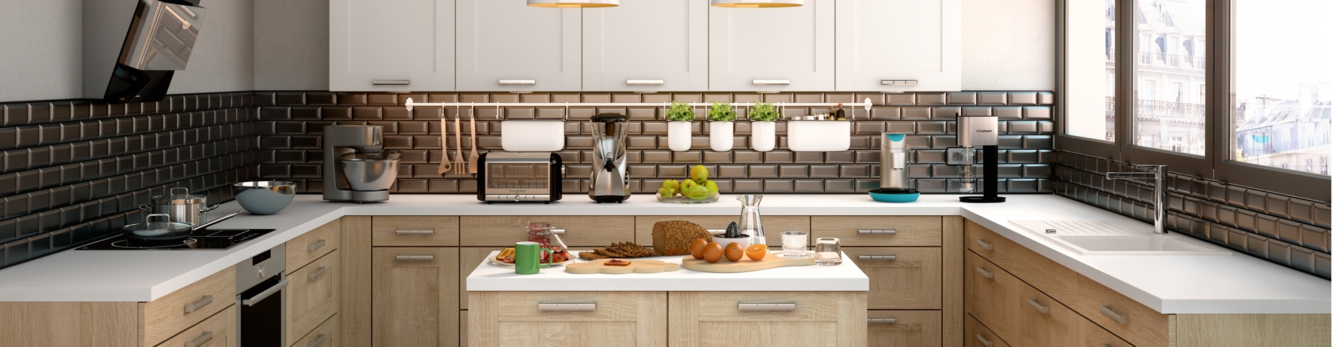 Cuisine quip e devis en ligne maison moderne for Combien coute une cuisine equipee