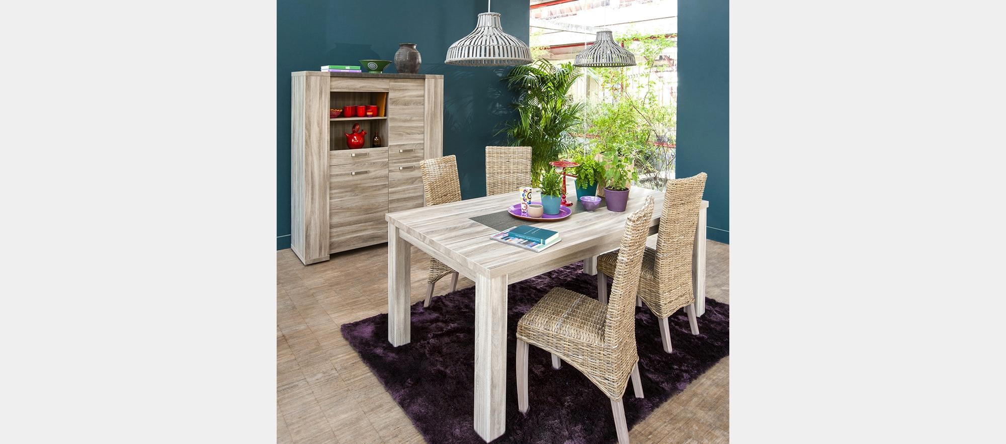 revger table sejour blanc id 233 e inspirante pour la conception de la maison