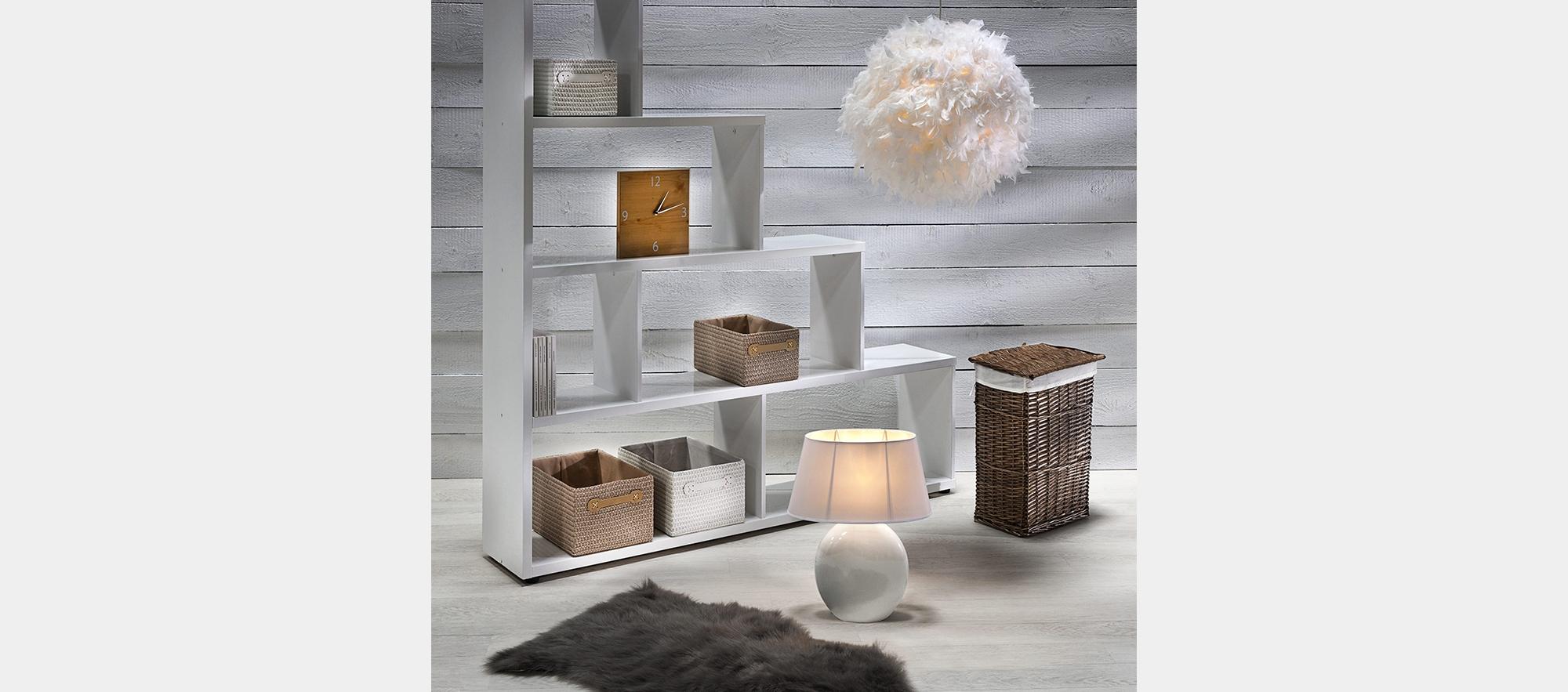 suspension kokot blanc suspensions but. Black Bedroom Furniture Sets. Home Design Ideas