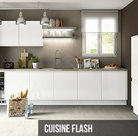 cuisine flash signature pr mont e blanc. Black Bedroom Furniture Sets. Home Design Ideas